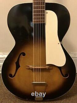 Vintage Old Kraftsman N 13 Archtop Acoustic Hollowbody Guitar Nice