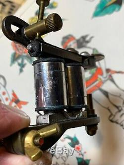 Vintage Tattoo Machine Old Antique Juan Puente Not Zeis Wagner Jonesy