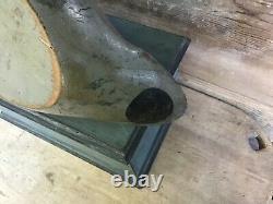Vintage antique old wooden working Mason Premier Mallard Drake duck decoy