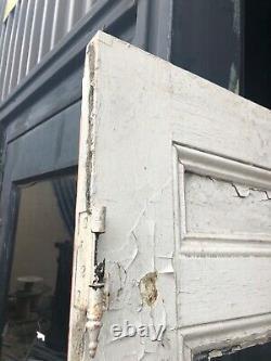 Vintage c1890 farm house glass entrance door 80/32.25/1.75 old glass 24/20