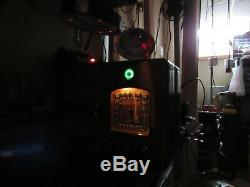 Vintage old wood antique tube radio Marconi model 201 Stunning piece here